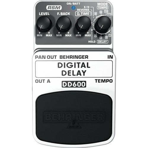 Behringer DD600 Digital Delay / Echo Effects Pedal