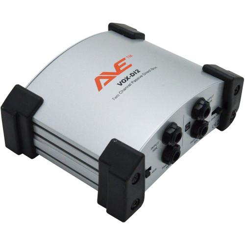 AVE VOX-DI2 Two Channel Passive DI Box – Silver