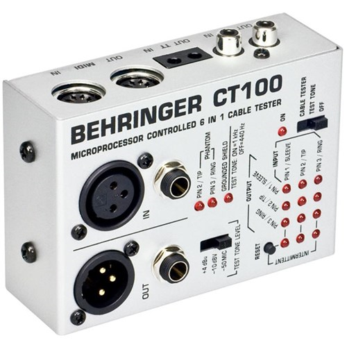 Behringer CT100 6-in-1 Cable Tester