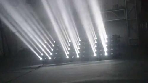 Crane RGBW 4in1 cree LED 5x5 15W Matrix beam moving head Prog Function (Text, alphabet, Numbers)