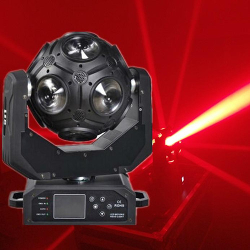 HemoSphere Moving Head 12x20W CREE RGBW 4in1 LED football