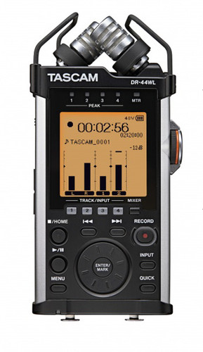 Tascam DR-44WL Portable Field Recorder with WiFi