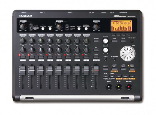 Tascam DP-03SD Portable 8-Track Digital Studio Multitrack Recorder