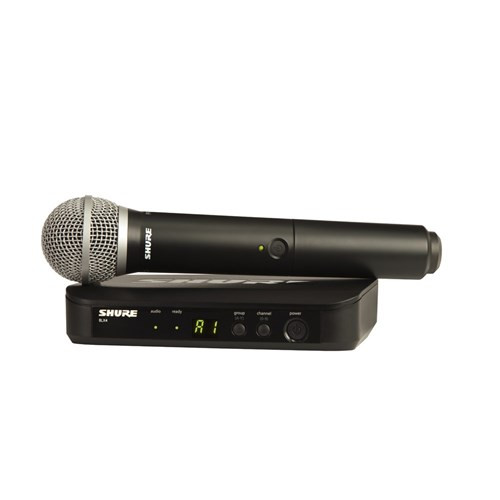 Shure BLX24 / PG58 Wireless Handheld System M17