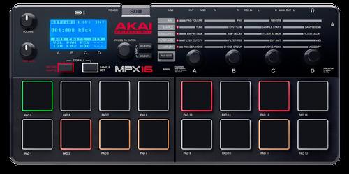 Akai MPX16 16 Pad Sample Recorder & Player