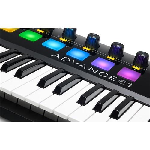 Akai Advance 61 Keyboard w/ High-Res Colour Screen