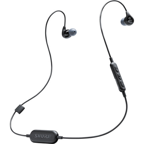 Shure SE112-BK-BT1 Wireless Sound Isolating Earphones Bluetooth (Black)