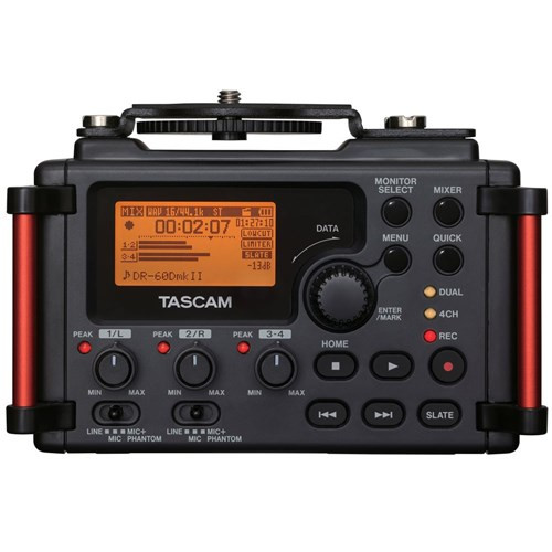 Tascam DR-60DMk2 DR-60DMk2 Audio Recorder for DSLR