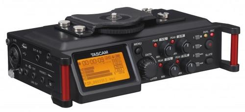 Tascam DR-70d Linear PCM Audio Recorder for DSLR