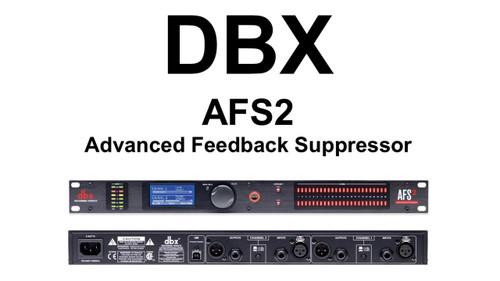 DBX AFS2 Advanced Feedback Suppressor