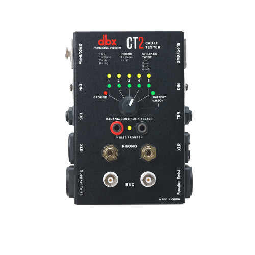 DBX CT2 Cable Tester