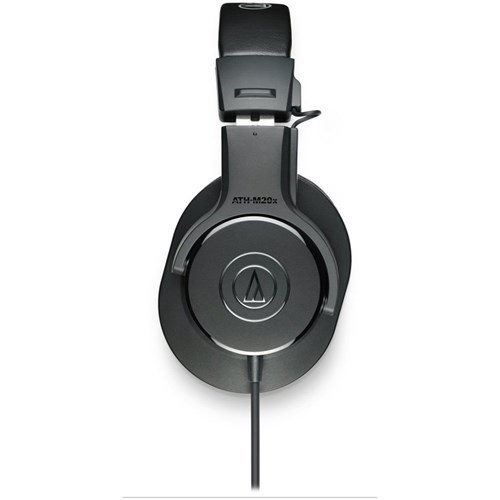 Audio Technica ATH M20x Entry Level Monitoring Headphones (Black)