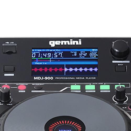 Gemini MDJ-900 DJ Media Player & Controller