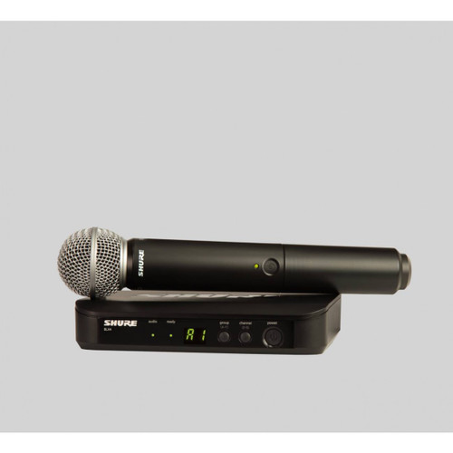 SHURE – BLX24 – WIRELESS VOCAL SYSTEM W/SM58