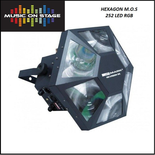 Hexagon-M.O.S 252 LED Lighting Effect RGB