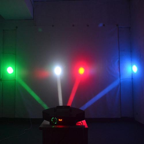 Octave M.O.S 80w 8 Head RGBW LED DMX Beam