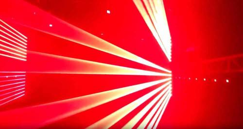 Crimson RED-6    M.O.S RED Laser (6x200 MW) DMX-512