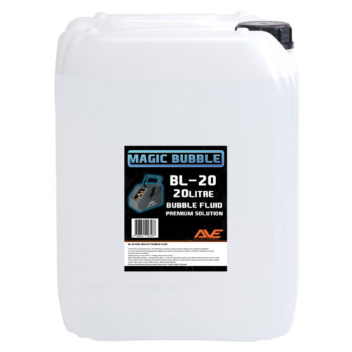 AVE BL-20 Bubble Fluid 20 Litre