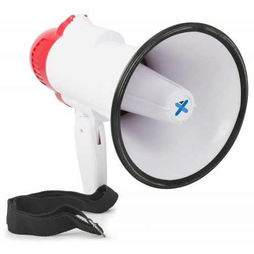 VONYX MEG020 20W Megaphone w/ record and siren