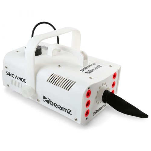 Beamz SNOW-900LED Snow Machine with LEDs 900W