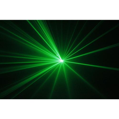 Beamz Mimas Laser Light Green Patterns 50mW