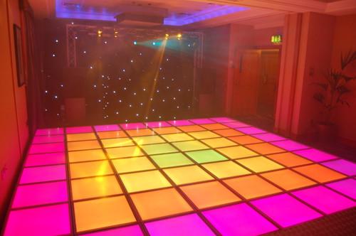 LED n  Video Dance-floor