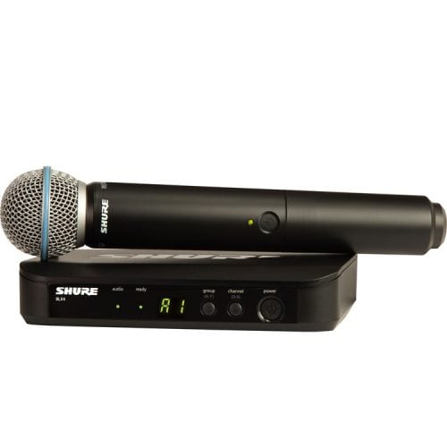Shure BLX24BETA58 Premium Wireless Handheld Microphone System