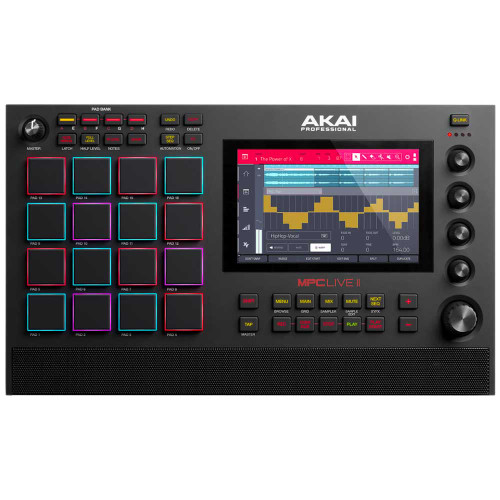 Akai MPC Live II – Standalone Music Production Controller