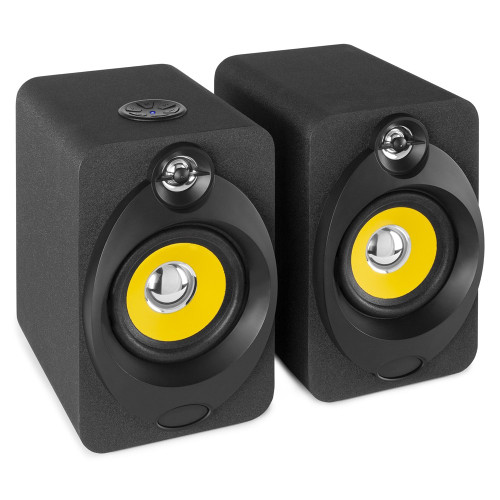 Vonyx XP40 Active Studio Monitor Pair 4 Inch BT USB