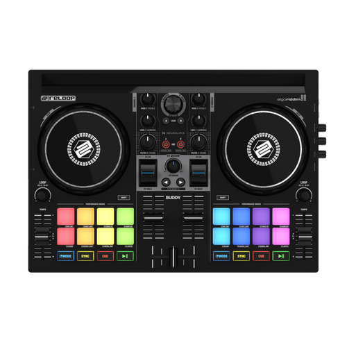 Reloop BUDDY Compact 2 Channel DJ Controller