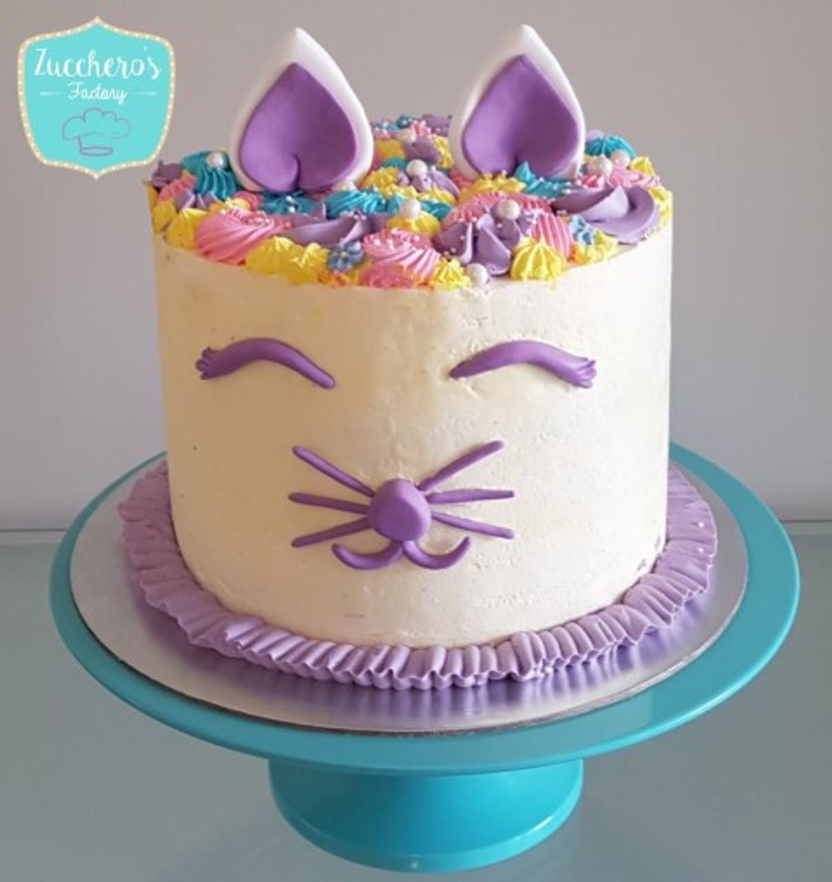 Superb Custom Kitten Cake Zuccheros Funny Birthday Cards Online Necthendildamsfinfo
