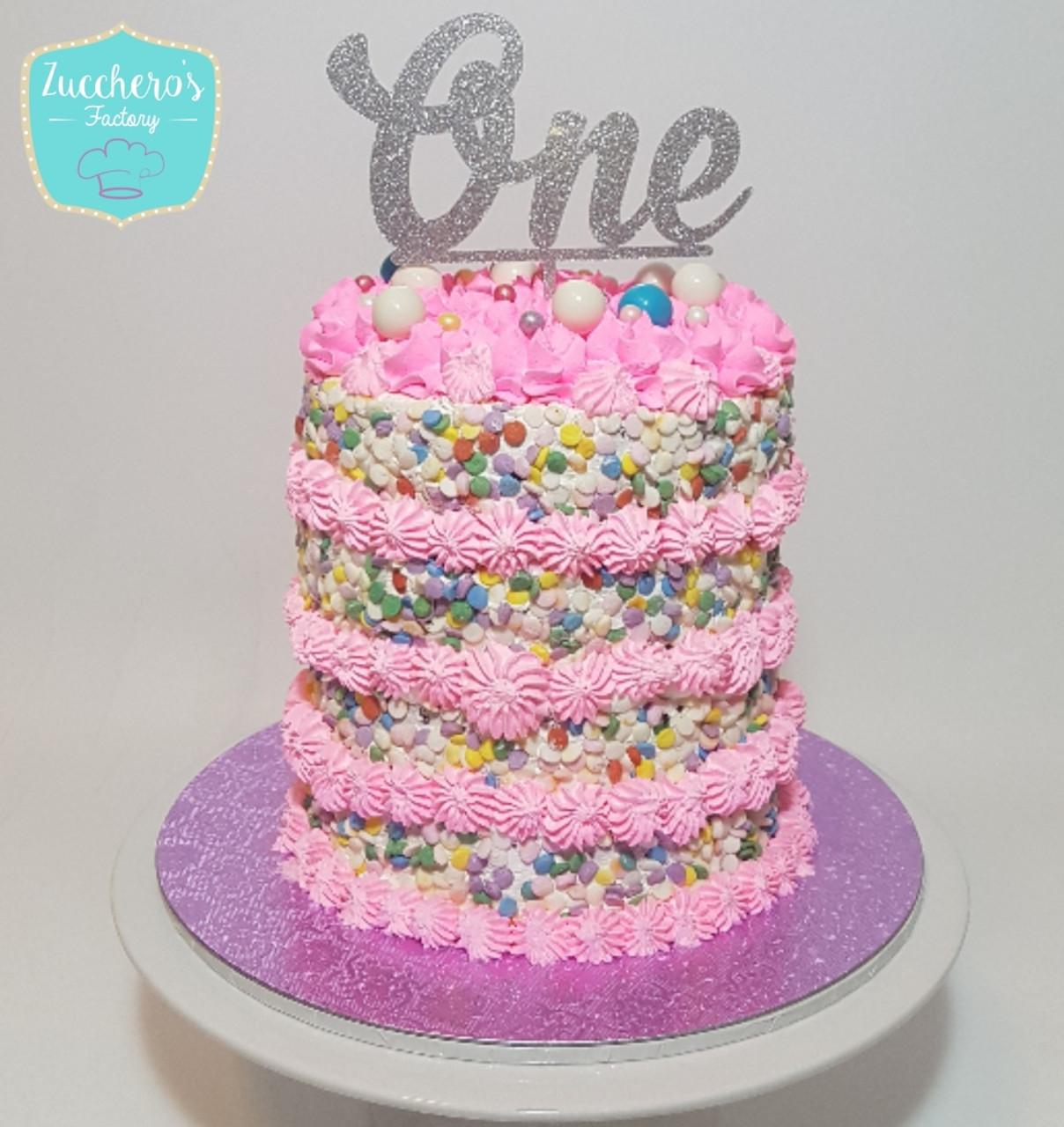 Swell 1St Birthday Cake For Girls Funny Birthday Cards Online Inifofree Goldxyz