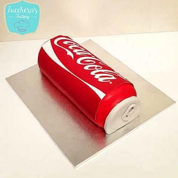 Custom Coca-Cola Chocolate Cake