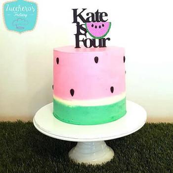 Summer Watermelon Cake