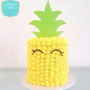 Custom Kids Pineapple Cake