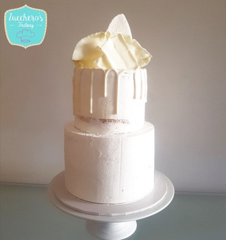 White Chocolate Communion Cake