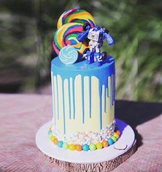 Candyland Cake for Boys