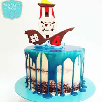 Birthday Chocolate Cakes for Boys
