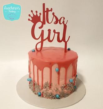 Baby Shower Cake for Girls