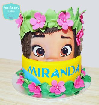 Moana Themed Cake for Girls