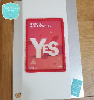 Corporate Printing Image Cake
