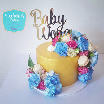 Floral Baby Shower Cakes