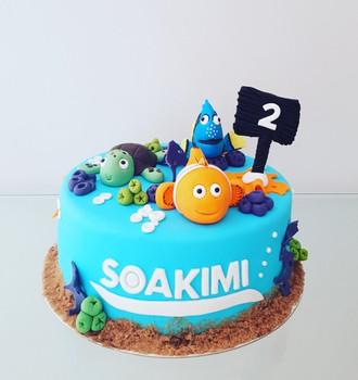 3D Nemo Cake