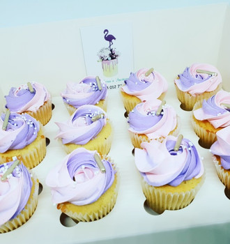 Purple Icing Reg Cupcakes