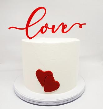 Red Love Cake