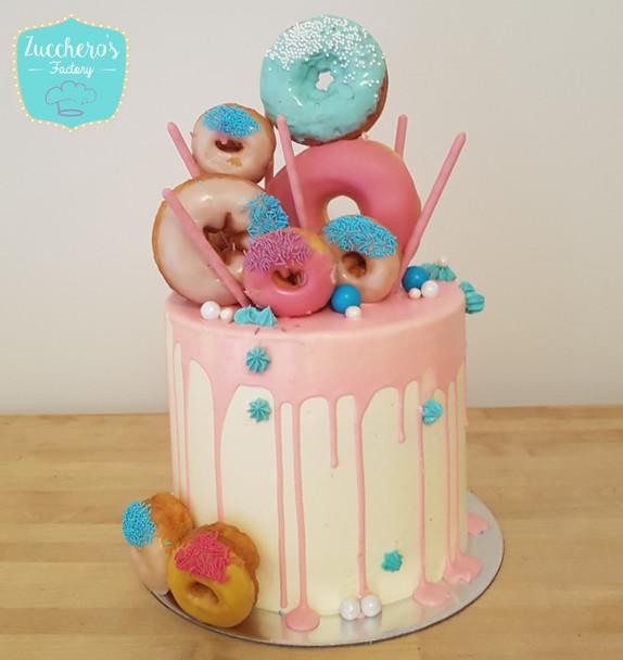 Doughnut Drip cake