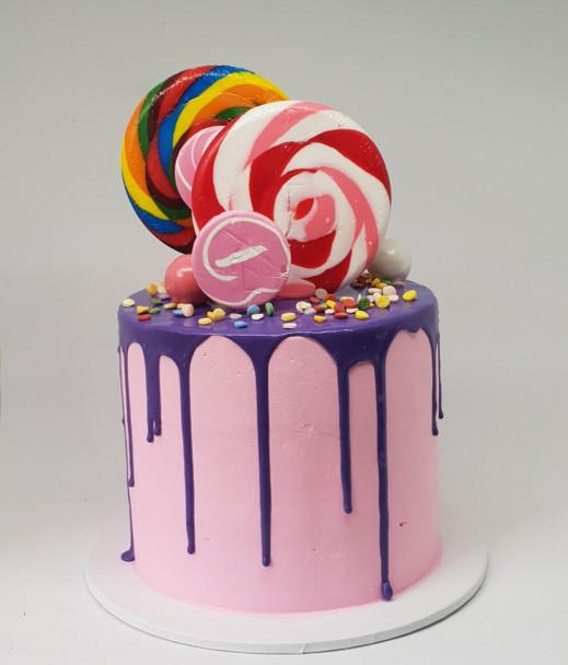 Candyland Cake for Girls