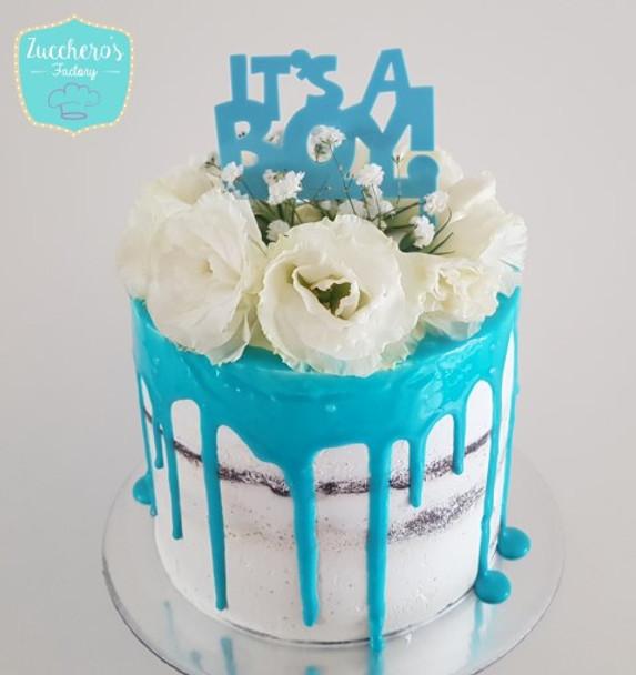 Baby Shower Cake for Boys