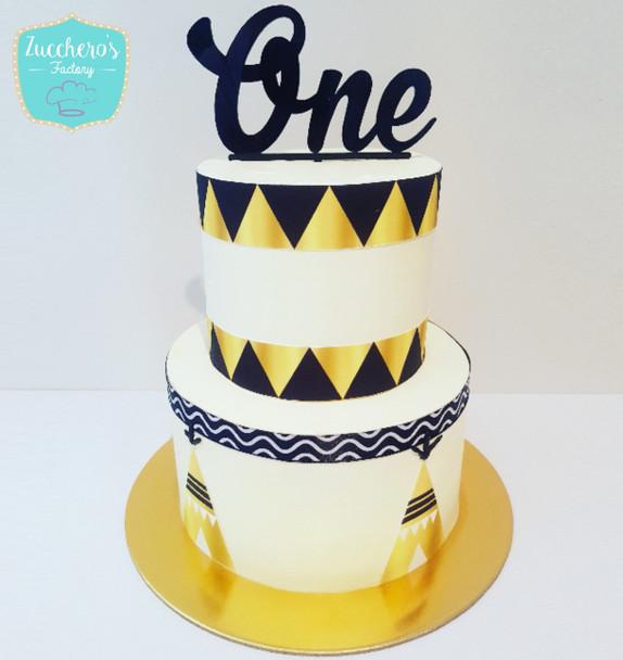 1st Birthday Kids Custom Cake