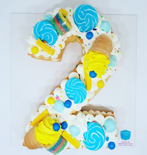 Number  Cookie cake